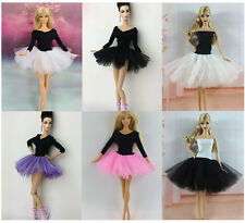 New 4 PCS Fashion Handmade Ballet Dress/Clothes/Outfit For Barbie Doll L044