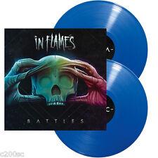 IN FLAMES - BATTLES, ORG 2016 GERMAN 180G BLUE vinyl 2LP, 500 COPIES! SEALED!
