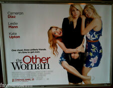 Cinema Poster: OTHER WOMAN, THE 2014 (Quad) Cameron Diaz Leslie Mann Kate Upton