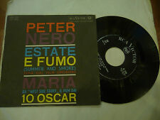 "PETER NERO""ESTATE E FUMO-disco 45 giri RCA Italy 1961"" OST"