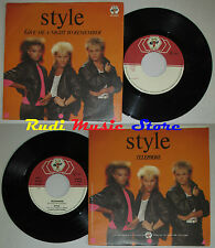 LP 45 7''STYLE Give me a night to remember Telephone ERRORE 1986 italy cd mc dvd