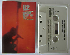 U2 UNDER A BLOOD RED SKY CASSETTE TAPE