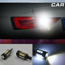 2x White Error Free LED Reverse Back up Light Bulb For Audi A3 8v S3 RS3 13-2016