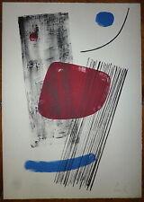 Lardera Berto Lithographie 1965 signée numérotée abstraction art abstrait