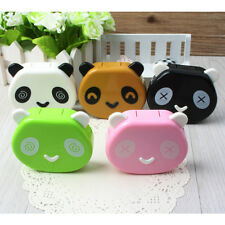 Travel Soak Storage Contact Lens Case Holder Box Container Panda Design UK163