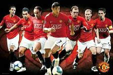 Manchester United Players 2008 - 2009 - Maxi Poster 61cm x 91.5cm (new & sealed)