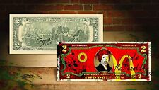 McDONALDS by RENCY Art Giclee on $2 Bill Signed/Numbered by Artist #/215 Banksy