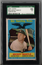 1959 Topps Mickey Mantle All Star #564 SGC 84 P270