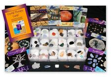 Crystal Therapy Cards Oracle Deck & 40 Specimen Collection Kit