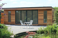 7m x 3m Garden Room / Home Office / Studio / Summer House / Log Cabin / Chalet