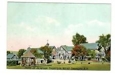 NH - WEST SWANZEY NEW HAMPSHIRE Postcard DENMAN THOMPSON HOME