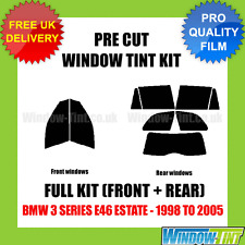BMW 3 SERIES E46 ESTATE 1998-2005 FULL PRE CUT WINDOW TINT KIT