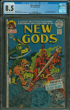 New Gods #7 CGC 8.5 1st appearance of Steppenwolf villian in Justice League