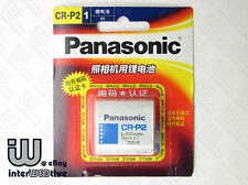 New in Package USA Panasonic CR-P2 CRP2 Photo Camera Battery 6V Expiry 2023