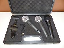 3x Microphone microfono Behringer xm1800s + SUPERLUX d103 + tenlux dm-518