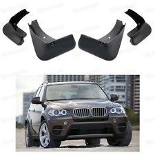 4Pcs Car Mud Flaps Splash Guard Fender Mudguard fit for BMW X5 E70 F15 2007-2016