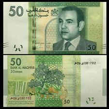 Morocco 50 Dirhams, 2012, P-75, UNC