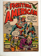 Fighting American #3 1954 SIMON/KIRBY VF 7.0 Mile High Pedigree Captain America