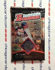 2001 Bowman HOBBY Pack Albert Pujols Willie Mays Hank Bauer Snider Auto/Relics?