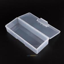 White Case Box Holder for Nail Art Brushes Storage Container Nail Accessories