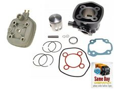 NEW BIG BORE CYLINDER BARREL KIT + HEAD 70CC FOR YAMAHA AEROX II NAKED 50 LC 2T