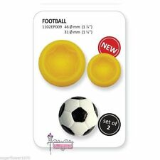 Easy Pops Football Soccer Cutters Moulds Cake decorating FAST NEXT DAY DESPATCH