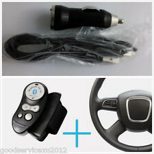 Portable Auto Steering Wheel Wireless Bluetooth Handsfree Speaker For Cell Phone