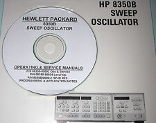 HP  8350B  Ops, Prog, & Service Manuals + App Notes