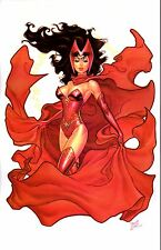 """2013 SDCC SCARLET WITCH ART PRINT- ART BY MICHAEL DOONEY SIGNED 11""""x17"""""""