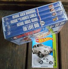 Herbie the Love Bug: Collection (DVD 2004 5-Disc Set) NEW W / HERBIE HOT WHEELS
