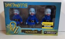 MEZCO Living Dead Dolls Entertainment Earth Exclusive Munch-kins Lost in OZ MIB!