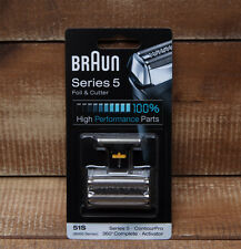 51S Braun Foil Cutter Series5 Shaver Blade 360°Complete 8000 Activator Contour