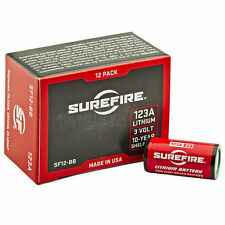 SureFire CR123A Lithium 3V (2 box - 24 Batteries) Expires 2026 SF12-BB Brand New
