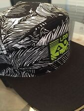 LRG LIFTED RESEARCH GROUP SAFARI SNAPBACK HAT IN BLK/WHT !! NEW !!!
