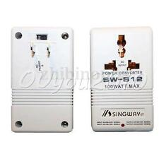 100W 110V/120V to 220V/240V US Step-Up&Down Voltage Converter Transformer Travel