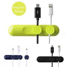 1PCS Magnetic Cable Clips Desktop Cord Management  Cord Organizer Multipurpose
