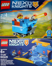 LEGO Nexo Knights #30372, #5004389 - Battle Station + Robin's Mini Fortrex - NEW