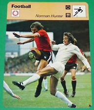 FOOTBALL FIRST DIVISION ENGLAND NORMAN HUNTER LEEDS UNITED S. PEARSON MANCHESTER