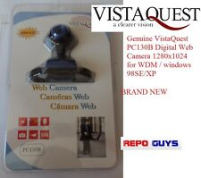 Genuine VistaQuest PC130B Digital Web Camera 1280x1024 for WDM / windows 98SE/XP