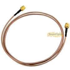 RF Coax RP-SMA Male to RP SMA Male Extension Jumper Pigtail Cable Wire RG316 3ft