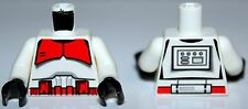 LeGo Star Wars Torso Dual Sided Red Clone Shock Trooper Ep.3 7655 NEW