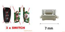 3 X BOUTON SWITCH AUDI A2 A3 A4 A5 A6 A8 TT