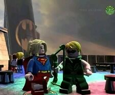 Supergirl and Green Arrow (compatible with Dimensions)