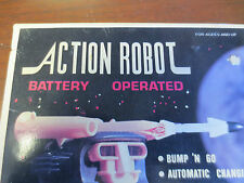 """Vintage Action Robot Mint In Box New Old Stock pre 1970""""S Hong Kong item NO. 811"""