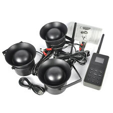 Hunting 150db Decoy Speaker 3x 50W Bird Sound Caller MP3 Player + Remote Control