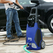 Electric Pressure Washer w Hose Reel Portable Car Wash Cleaner Outdoor House Kit