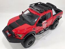 Maisto - 32521 - Ford F150 Raptor Off-Road 2017 Scale 1:24 - Red