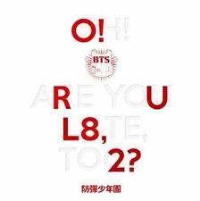 BTS [O!RUL8,2?] 1st Mini Album CD Booklet+Photo Card+Folded Poster K-POP Sealed