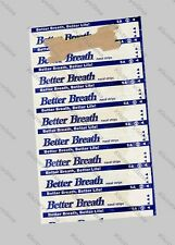 100 NASAL STRIPS (MEDIUM/SMALL) Breathe Better/Reduce Snoring Right Now