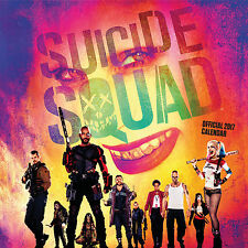 Suicide Squad Official 2017 Square Wall Calendar - NEW (SKU 263)